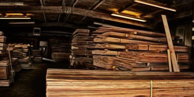 half_paint_wood