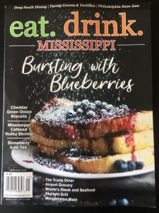 Skylight Grill Featured in eat.drink. Mississippi Magazine